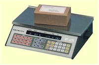 Detecto MS-Series mail room and shipping room scales - shipping scales, mail scales, bulk weighing, mail room equipment, parcel weighing, legal for trade, detecto, detecto ms, ups scales,  postal scales