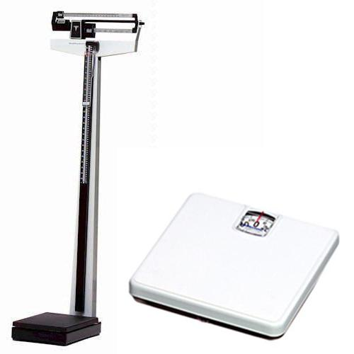 Healthometer 402kl mechanical beam physicians scale 500 x - How to calibrate a bathroom scale ...