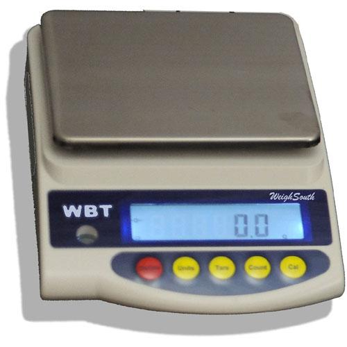 WeighSouth WBT-5001  Laboratory Scales 5000 lx 0.1 g