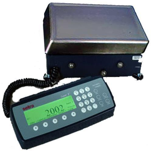 Setra Super II 4091451NB Counting  Scale with Backlight and Battery Option  27 x 0.0005 lb