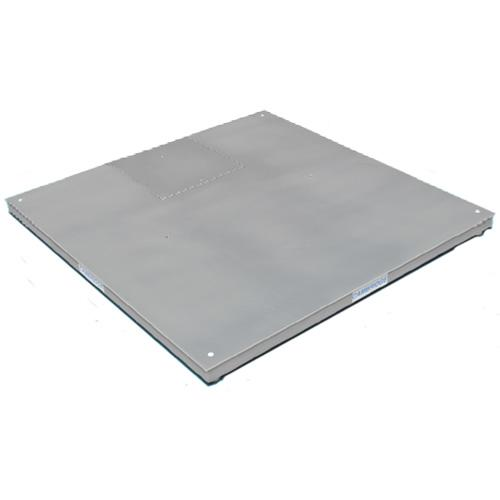 Cambridge 3860-1005-SS MODEL SS660 Stainless Steel Low Profile 36x36x3 Base Only -2500 lb