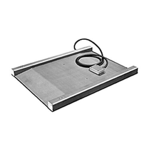 Cambridge S670236365 Model SS670-2 Series Legal For Trade Stainless Steel Scale Built In Double Ramp 36 x 36 x 1.5 / 5000 x 1