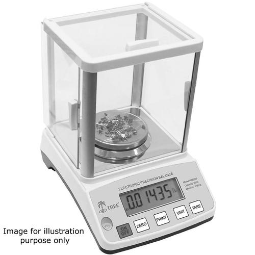 Tree HRB-S-203 Washdown Stainless Steel Milligram Balances 200 x 0.001 g
