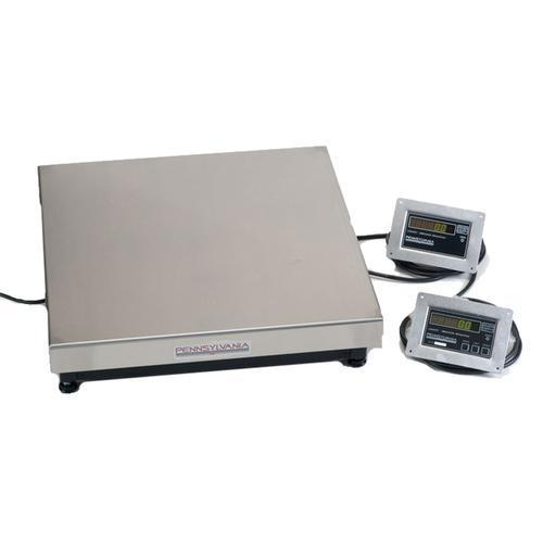 Pennsylvania Scale M64-1824-1000 64 Series Baggage Scale 18 x 24 inch with 2 Displays- 1000 x 0.2 lb