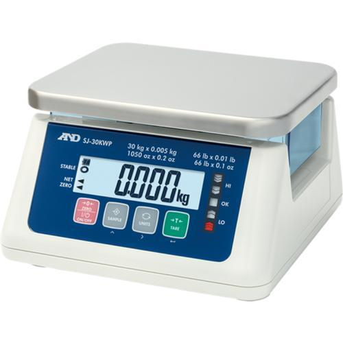 AND Weighing SJ-15KWP IP67 Checkweighing Scale 15kg x 0.5g
