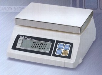 Solar powered Tanita digital scale