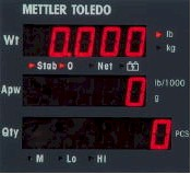 Mettler Toledo� XPress� Economy Counting Scale