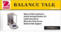 Ohaus Balance Talk Software Offer